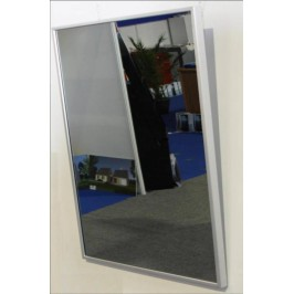 Miroir chauffant infrarouge 500 watts domo systems 528 for Miroir infrarouge